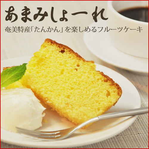 奄美大島お土産お菓子/たんかんケーキ210g