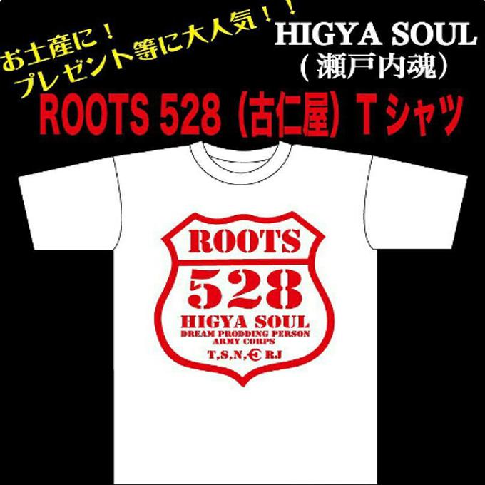 奄美大島ご当地/Tシャツ/ROOTS/528(古仁屋)