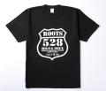 奄美大島ご当地/Tシャツ/ROOTS/528(古仁屋)黒/白