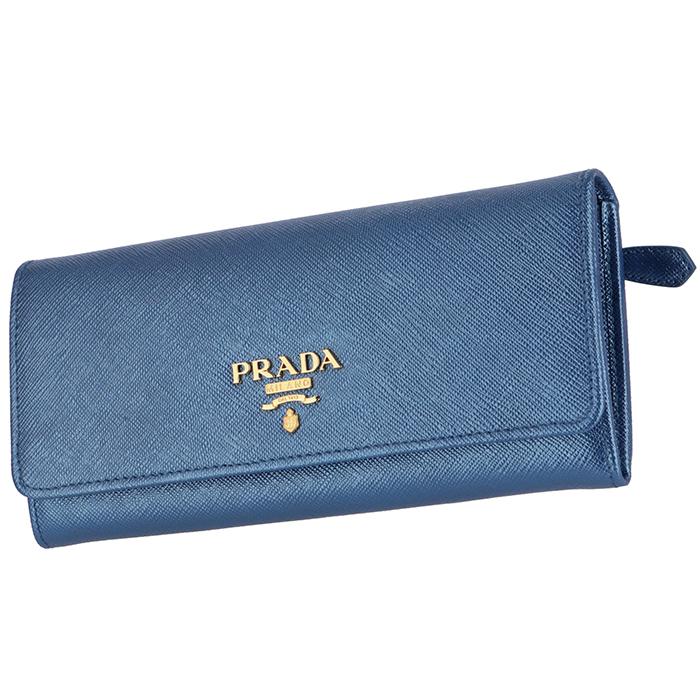 570132546359 プラダ PRADA 2018年秋冬新作 長財布 サフィアーノ パスケース付き 二つ折り長財布.
