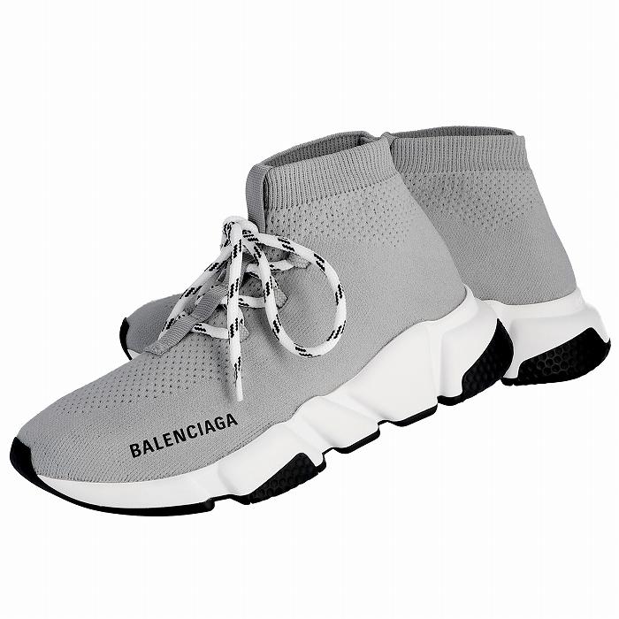 バレンシアガ BALENCIAGA 2019年春夏新作 スピード トレーナー SPEED LOW ロゴ ソックス 靴 レディース スニーカー 562159 W1HP0 1214