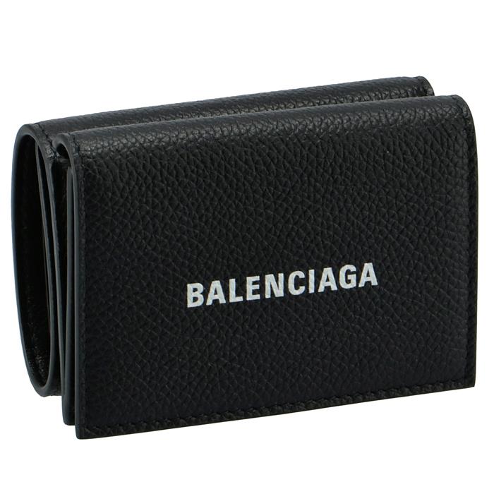 バレンシアガ BALENCIAGA 2021年春夏新作 財布 三つ折り ミニ財布 CASH MINI ロゴ ミニウォレット 三つ折り財布 594312 1IZI3 1090