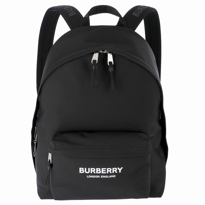 バーバリー BURBERRY 2019年秋冬新作 メンズ バックパック ロゴプリント ナイロン リュックサック メンズ リュックサック 8016109