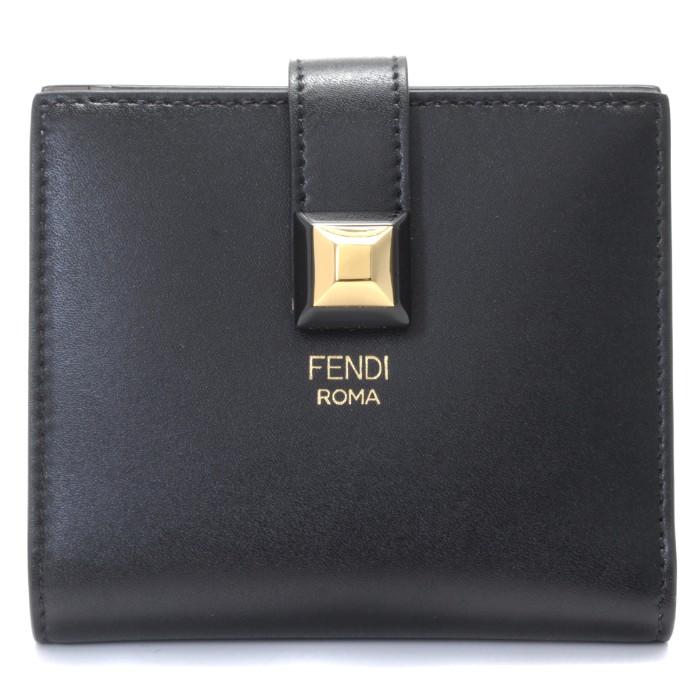 フェンディ FENDI 2018年春夏新作 財布  ミニ財布 二つ折り財布 8M0386 SWD F0E6E