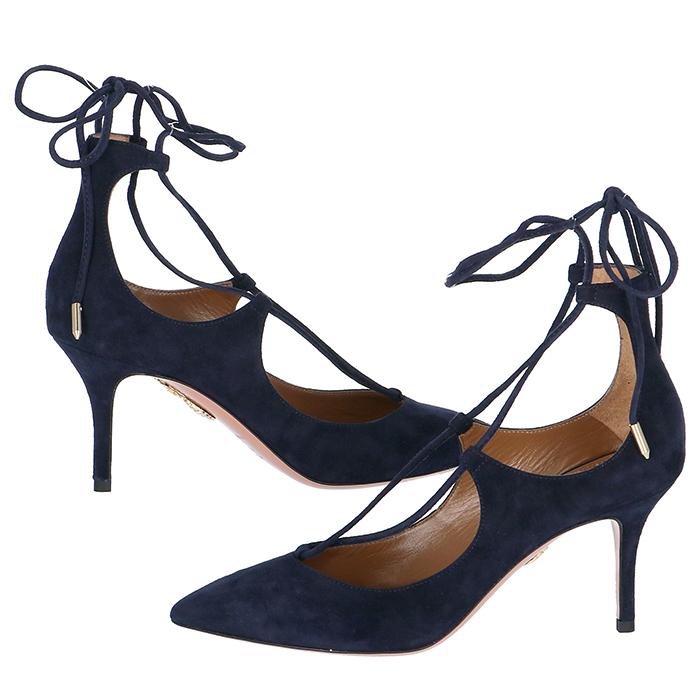アクアズーラ AQUAZZURA 靴 パンプス スエード CHRMIDP0 SUE 080