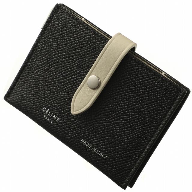 セリーヌ CELINE  ストラップ カードケース バイカラー カードケース 10A57 3AI5 38BJ