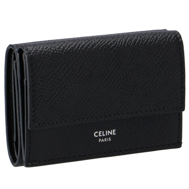 セリーヌ CELINE 2020年春夏新作 財布 三つ折り ミニ財布 フォールデッド ウォレット 三つ折り財布 10E60 3BEL 38SI