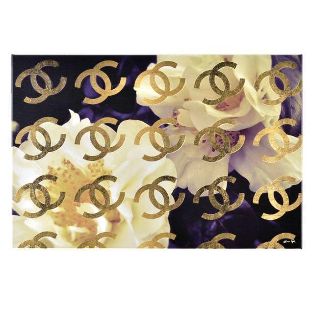 オリバー・ガル Oliver Gal  アートボード COCO'S GOLD CAMELLIA 13324