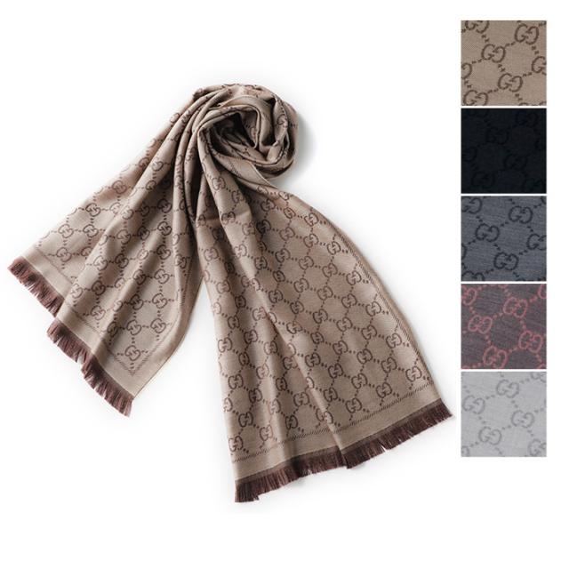 グッチ GGジャカード パターンスカーフ 5色 GUCCIギフト包装可 スカーフ 133483 3G200