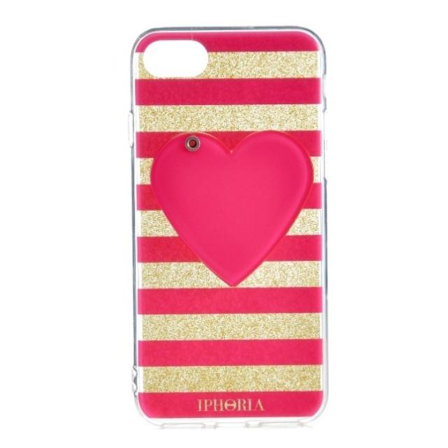 アイフォリア IPHORIA 2017年秋冬新作 Mirror Case Pink Heart I PHONE 7ケース アイフォン7ケース スマホケース 14273 0001