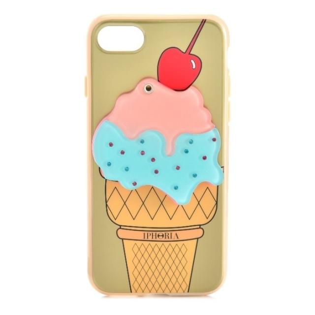 アイフォリア IPHORIA 2017年秋冬新作 Mirror Case Golden Ice-Cream I PHONE 7ケース アイフォン7ケース スマホケース 14278 0001