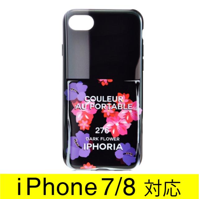 アイフォリア IPHORIA 2017年秋冬新作 Colour Case Dark Flower I PHONE 7ケース アイフォン7ケース スマホケース 14295 0001