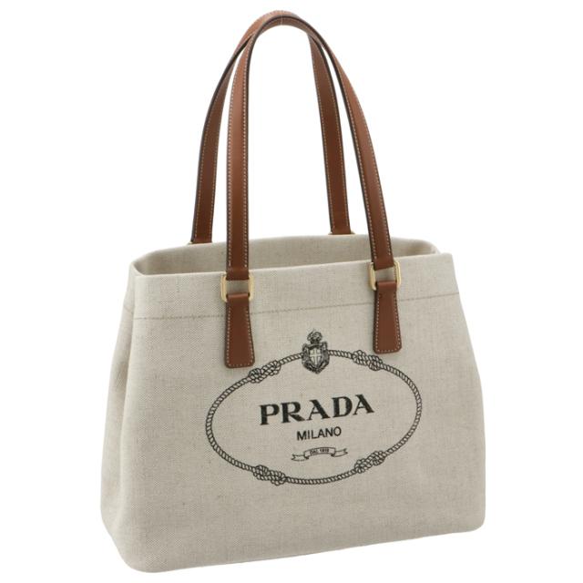プラダ PRADA トートバッグ キャンバス×レザー コンビ ハンドバッグ 1BG356OOO 2DLI A5T