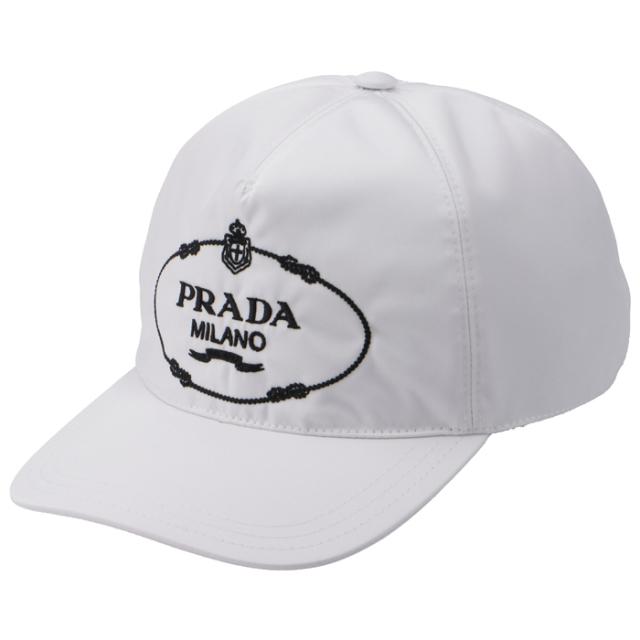 プラダ PRADA ナイロン ロゴ キャップ ユニセックス キャップ 1HC179 2EK1 964