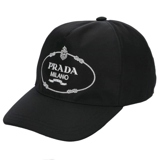 プラダ PRADA ロゴ キャップ ユニセックス キャップ 1HC179 2EK1 967