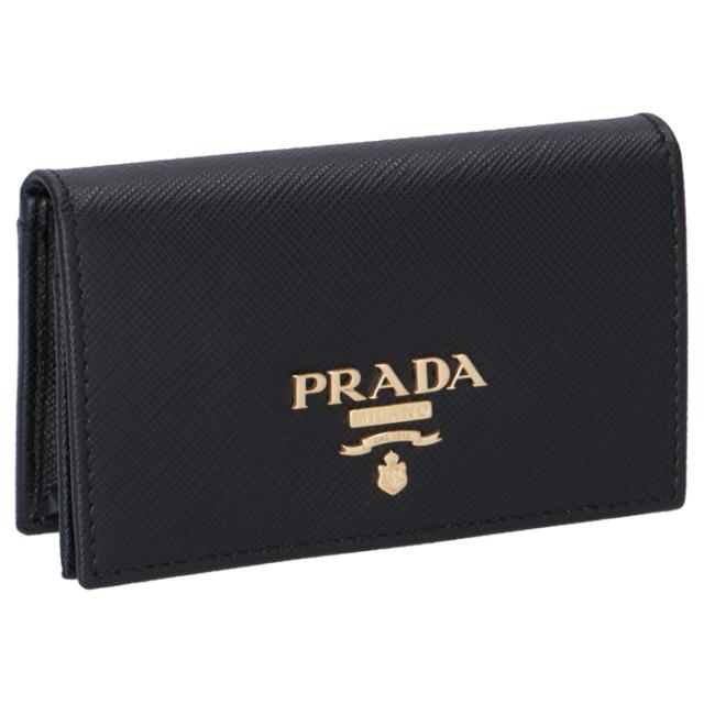 プラダ PRADA 名刺入れ サフィアーノメタル カードケース 1MC122 QWA 002