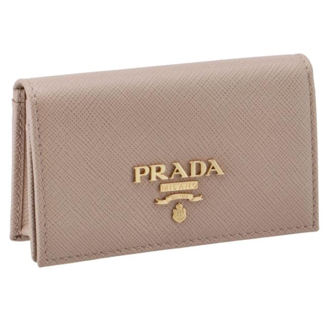 プラダ PRADA 名刺入れ サフィアーノメタル カードケース 1MC122 QWA 236