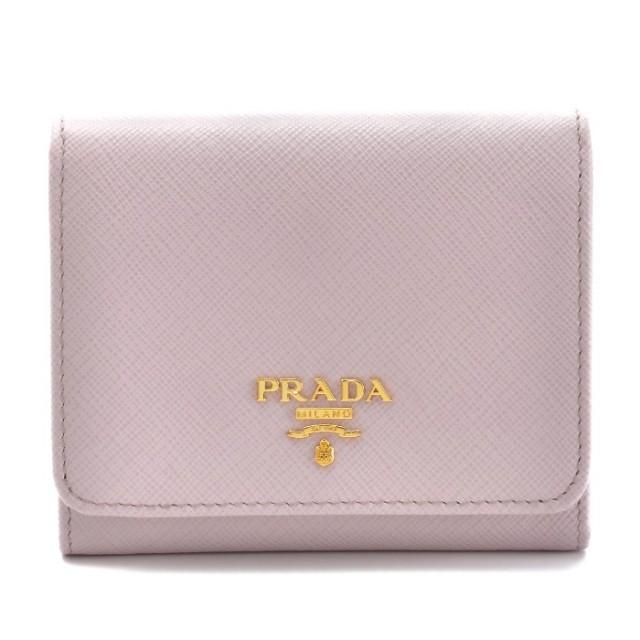 プラダ PRADA 2017年秋冬新作 サフィアーノ 財布 三つ折り財布 1MH176 QWA 10F