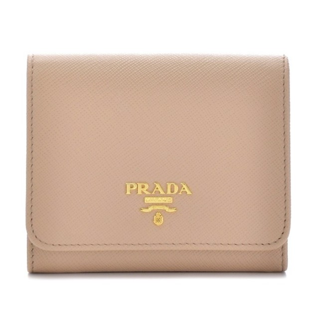 プラダ PRADA 2017年秋冬新作 サフィアーノ メタル 三つ折り財布 1MH176 QWA 770