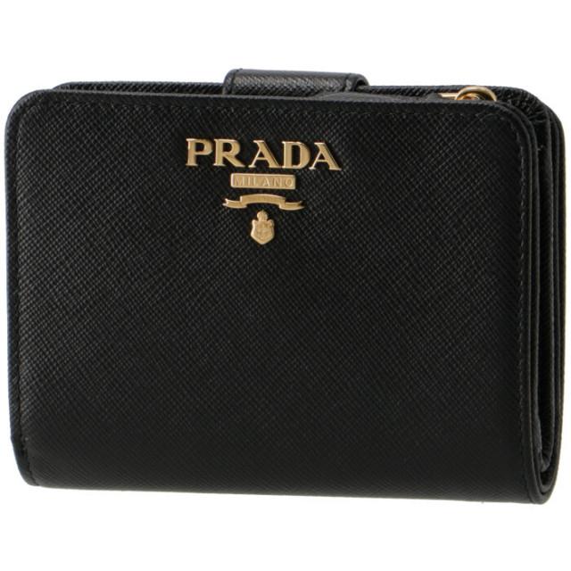 プラダ PRADA 2018年秋冬新作 財布  サフィアーノメタル 二つ折り財布 1ML018 QWA 002