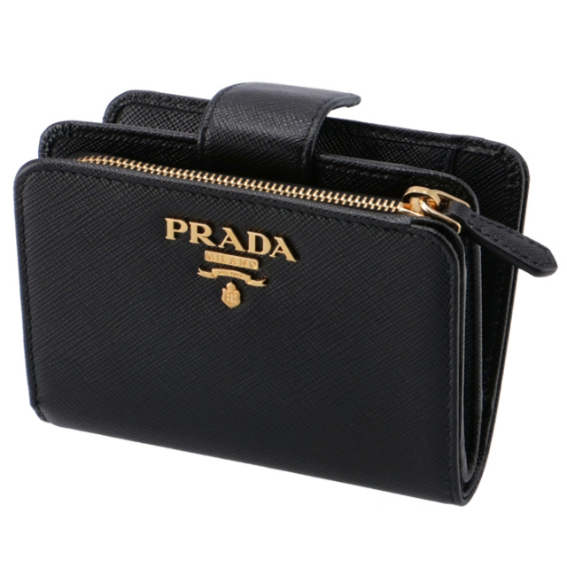 プラダ PRADA 財布 サフィアーノメタル 二つ折り財布 1ML018 QWA 002