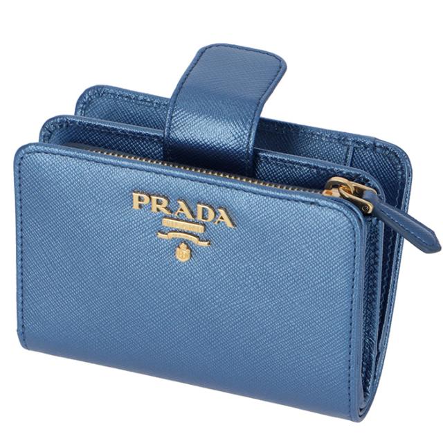 プラダ PRADA 2018年秋冬新作 財布  サフィアーノ 二つ折り財布 二つ折り財布 1ML018 QWA CSQ