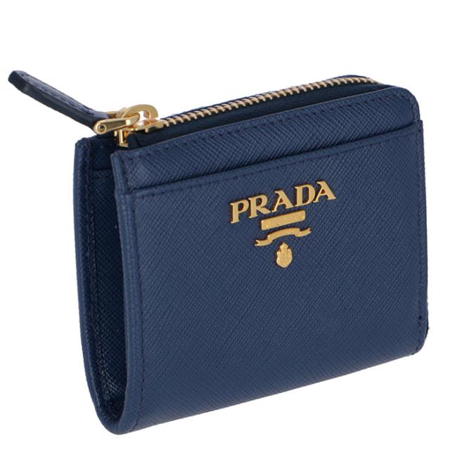 プラダ PRADA 2018年秋冬新作 財布  小銭入れ サフィアーノメタル コインケース 1ML025 QWA 016