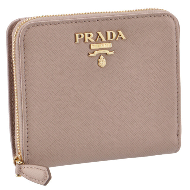 プラダ PRADA 2020年秋冬新作 サフィアーノ 折りたたみ財布 二つ折り財布 1ML036 QWA 236