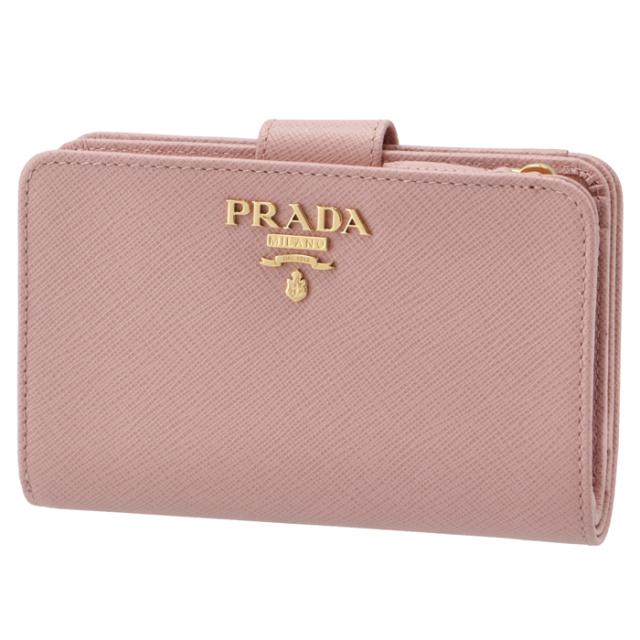 プラダ PRADA 折財布 サフィアーノ 二つ折り財布 1ML225 QWA 924