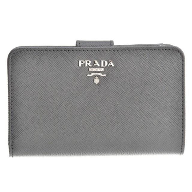 プラダ PRADA 2017年秋冬新作 財布 サフィアーノ  二つ折り財布 1ML225 QWA K44