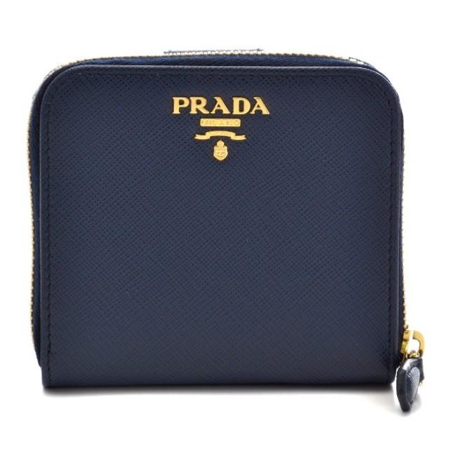 プラダ PRADA 2017年秋冬新作 財布 サフィアーノ  二つ折り財布 1ML522 QWA 216