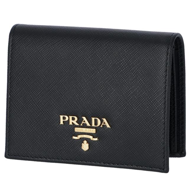 プラダ PRADA サフィアーノ 財布 二つ折り ミニ財布 二つ折り財布 1MV204 QWA 002