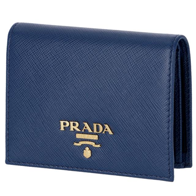 プラダ PRADA 2018年春夏新作 サフィアーノ 財布  ミニ財布 二つ折り財布 1MV204 QWA 016