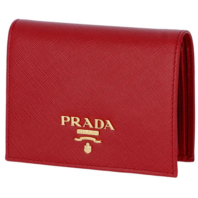 プラダ PRADA 2018年春夏新作 サフィアーノ 財布  ミニ財布 二つ折り財布 1MV204 QWA 68Z