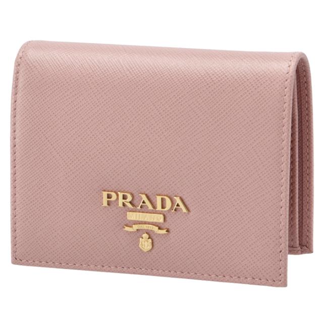 プラダ PRADA ミニ財布 サフィアーノ 二つ折り財布 1MV204 QWA 924