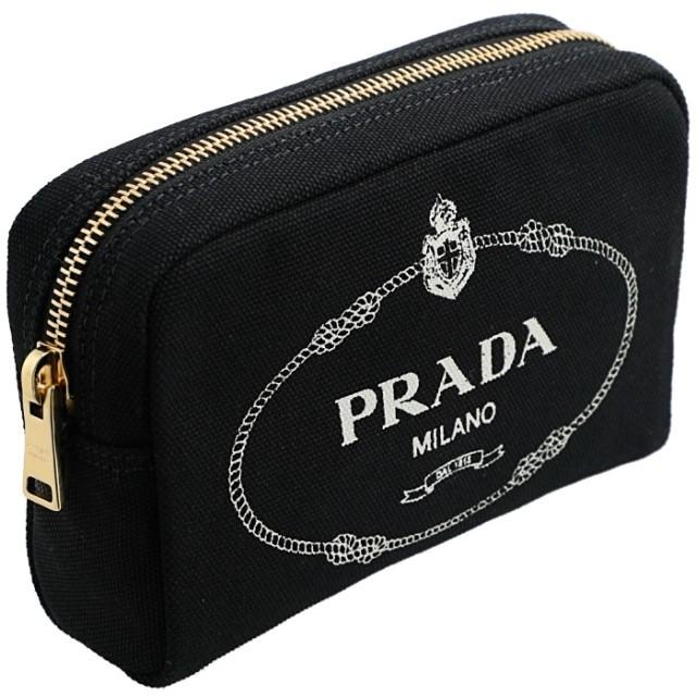 プラダ PRADA 2019年春夏新作 カナパ ポーチ キャンバス  ポーチ 1NA021 20L N12