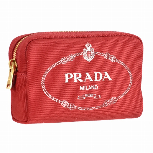プラダ PRADA 2019年春夏新作 カナパ ポーチ キャンバス  ポーチ 1NA021 20L N50