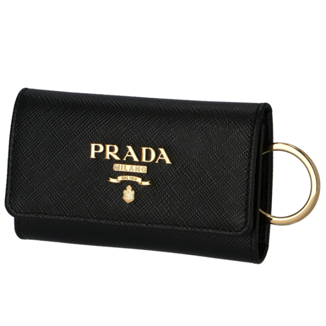 プラダ PRADA 2020年春夏新作 キーケース 4連  サフィアーノ 4連キーケース 1PG004 QWA 002