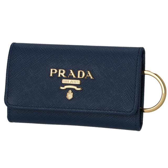 プラダ PRADA 2020年春夏新作 キーケース 4連  サフィアーノ 4連キーケース 1PG004 QWA 016