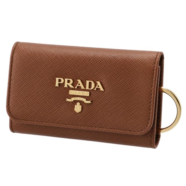 プラダ PRADA 2020年秋冬新作 キーケース 4連  サフィアーノ 4連キーケース 1PG004 QWA 046