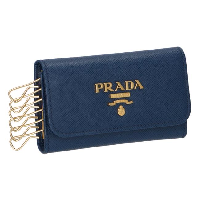 プラダ PRADA SAFFIANO サフィアーノメタル 6連キーケース 1PG222 QWA 016