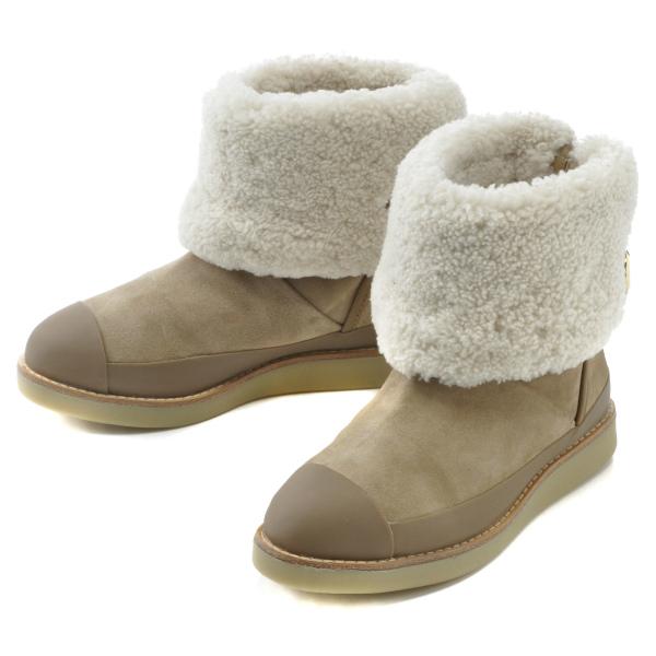 トリーバーチ TORY BURCH 靴 ショートブーツ ムートンブーツ スエード 22148436