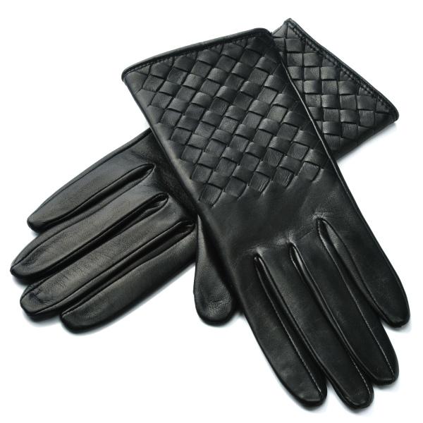 ボッテガヴェネタ BOTTEGA VENETA 手袋 グローブ レザー 244419