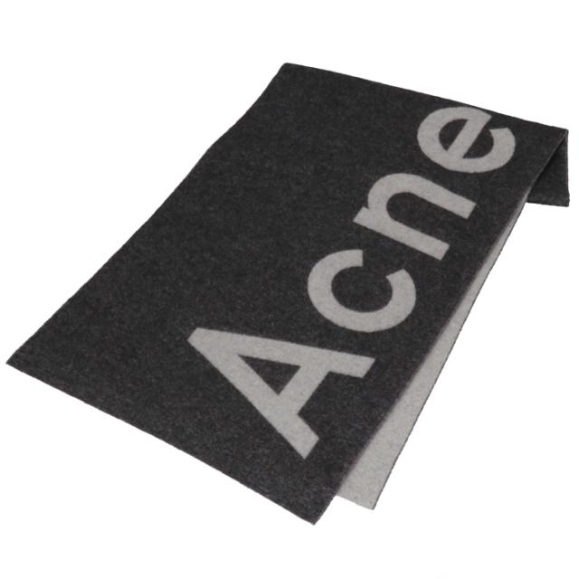 アクネ ストゥディオズ ACNE STUDIOS 2020年春夏新作 マフラー ロゴ ジャカード ストール 200 X 50cm マフラー スカーフ 274176 0009 900