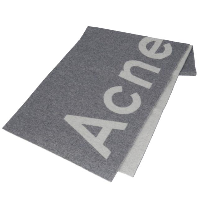 アクネ ストゥディオズ ACNE STUDIOS 2020年春夏新作 マフラー ロゴ ジャカード ストール 200 X 50cm マフラー スカーフ 274176 0009 902
