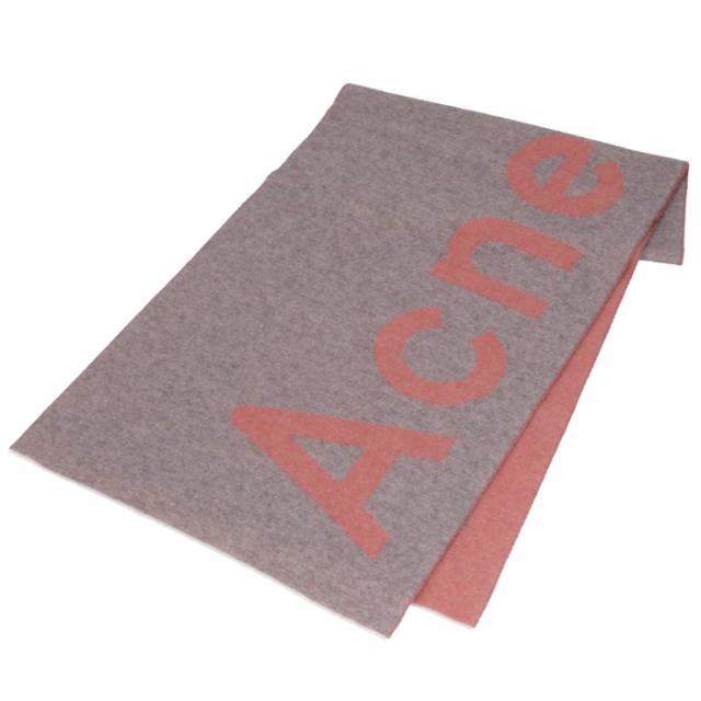 アクネ ストゥディオズ ACNE STUDIOS 2020年春夏新作 マフラー ロゴ ジャカード ストール 200 X 50cm マフラー スカーフ 274176 0009 ANS