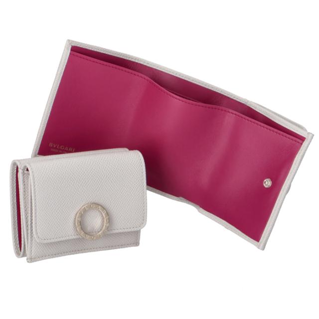 ブルガリ BVLGARI 財布 三つ折り ミニ財布 レディース BVLGARI BVLGARI ホワイト系 288653 0003 0050
