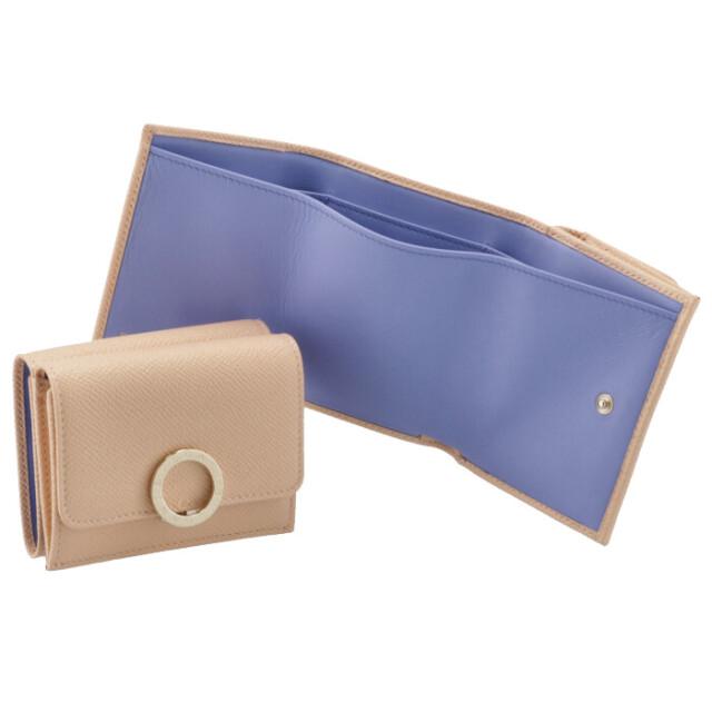 ブルガリ BVLGARI 財布 三つ折り ミニ財布 レディース ブルガリ・ブルガリ BVLGARI BVLGARI ベージュ系 290483 0003 0076