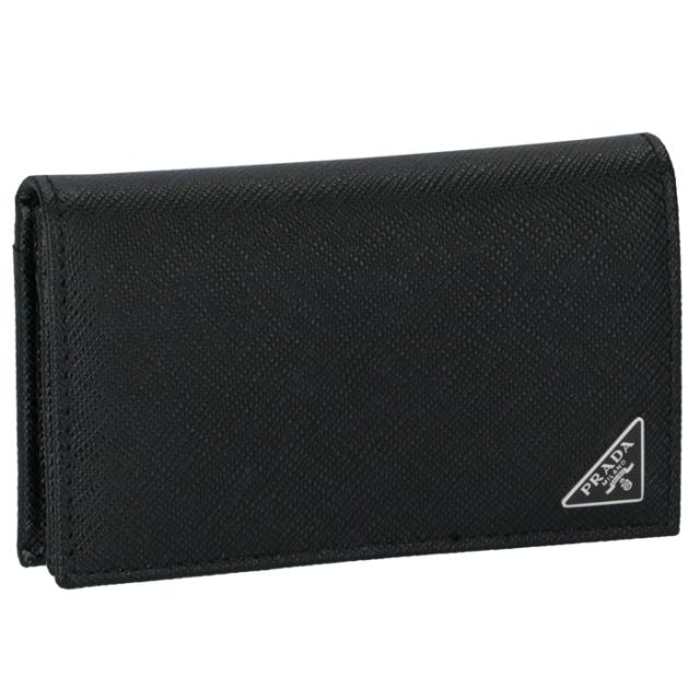 プラダ PRADA メンズ カードケース 名刺入れ サフィアーノ メンズ カードケース 2MC122 QHH 002