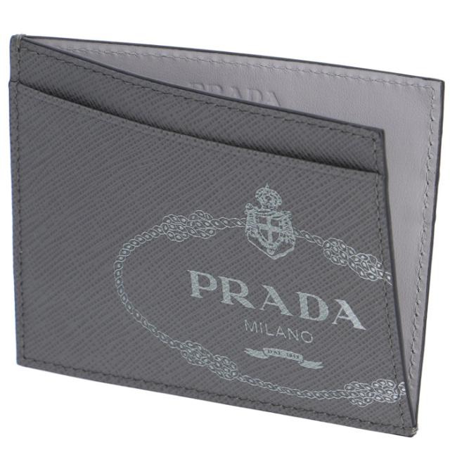 プラダ PRADA 2019年秋冬新作 メンズ カードケース 名刺入れ サフィアーノプリント メンズ カードケース 2MC223 2MB8 MO7
